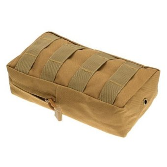 Harga NEW 100% Real Molle Multi-Purpose Tactical Pouches Military Magazine Pouch Utility Gadget Pouch Tools Waist Bags Outdoor Pack - intl