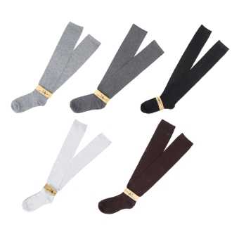 Harga OH Fashion Womem Long Cotton Socks Over Knee Thigh High Hose Trendy Stockings