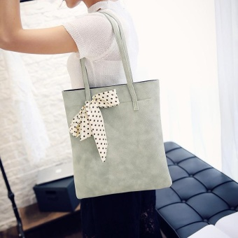 Fashion Women Tote Bag PU Sweet Elegant Lady Large Leather Crocodile Shopper Tote Shoulder Bag Simple Messenger Canvas Purse bags Handbag - intl