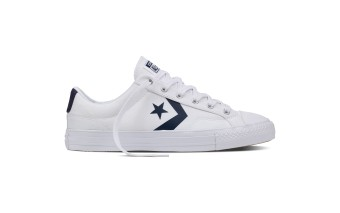 Harga Converse 155410C - Star Player White/ Athletic Navy/ White