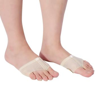Harga Ballet Dance Foot Thongs Toe Undies Forefoot Cushions Covers(Skin Color/S) - intl