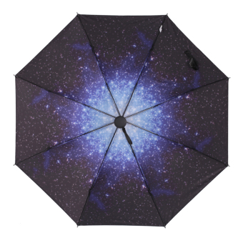 Harga Hope house square small daisy creative umbrella folding umbrella sun umbrella uv umbrella sun umbrella black umbrella (Sky umbrella)