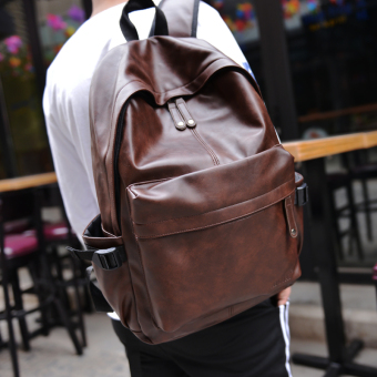 Harga Leather Korean-style casual bag