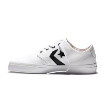 Harga Converse Zakim Canvas Ox White/Black/White 153732