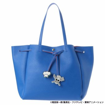Harga COLORS by Jennifer Sky x ONE PIECE Limited Collection Tote bag Shoulder bag ( BLUE COLOR)