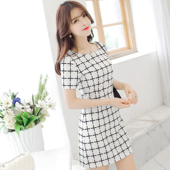 Harga Korean-style female summer dress