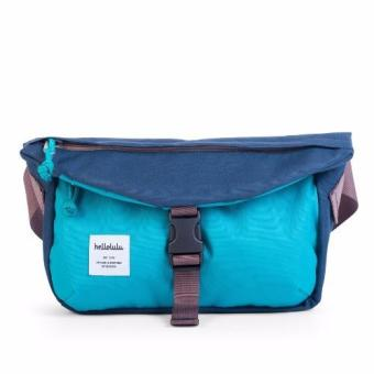 Harga Hellolulu Joss All-Day Hip Pack (Navy-Sky Blue)