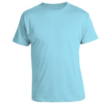 Harga REMME 100% Supima Cotton Round Neck T-Shirt (Sky Blue)