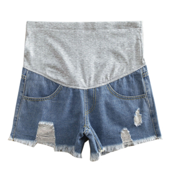 Harga Woman Maternity Denim Shorts
