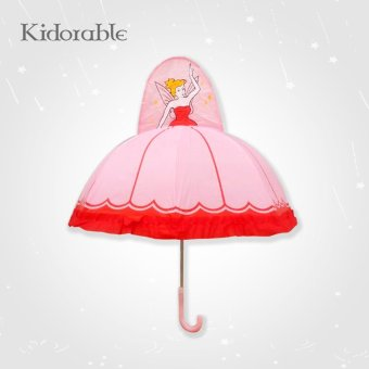 Harga Small umbrella children umbrella children umbrella children umbrella cartoon umbrellas for men and women baby princess umbrella printing logo ([Product] pink princess)