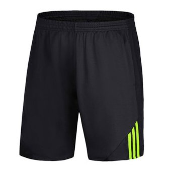Harga Good Quality Breathable Soft Dry Fast Sports Basketball Men Shorts(Green)