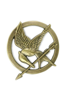 Harga Cosplay The Hunger Games Mockingjay Pin (Bronze)