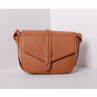 Harga Mini Dumpty Sling Bag (Brown)