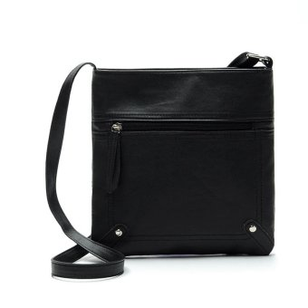 Fashion Womens Leather Satchel Cross Body Shoulder Messenger Bag Handbag - intl