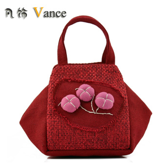 Harga Chinese-style features handmade cloth handbag national wind bag