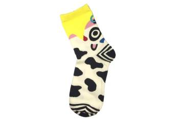 Harga T92 Zoo Cow Socks (Adult)