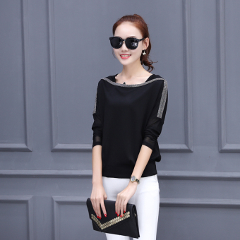 Harga Spring and Autumn and autumn New style long-sleeved t-shirt small shirt
