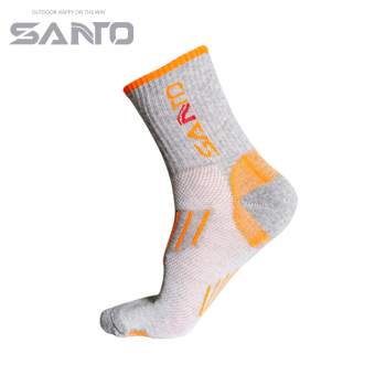 Harga Extension of new female models foot and a half thick socks moisture wicking breathable outdoor warm in tube socks s005 (Gray)