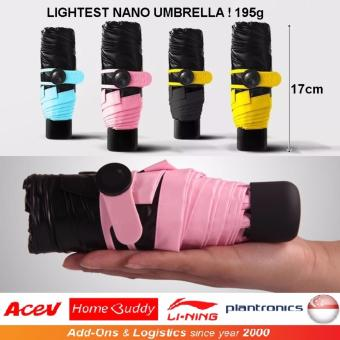 Harga World Lightest Nano Umbrella / Nano Umbrella - 195gm (Blue)