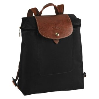 Harga LONGCHAMP 1699 LE PLIAGE BACKPACK - Black
