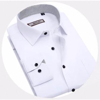 Men's long sleeve Slim Korean style business shirt - intl