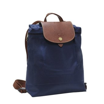 Harga Longchamp Navy Le Pliage Backpack