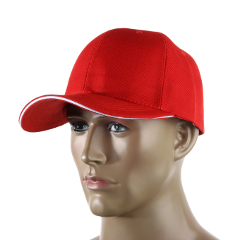 Harga Sun Cap Outdoor Sports Hat Golf Cap Red