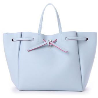 Harga Samantha Thavasa x COLORS by Jennifer sky Shoulder bag Sling Bag Medium size with Sling (SKy blue color)