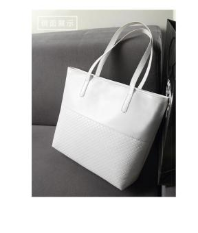Women's Fashion Handbag Bag Lady Single Shoulder Bag- White - intl