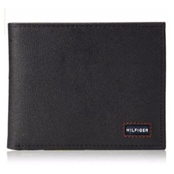Tommy Hilfiger Men's Wallet with Fixed Passcase black - intl