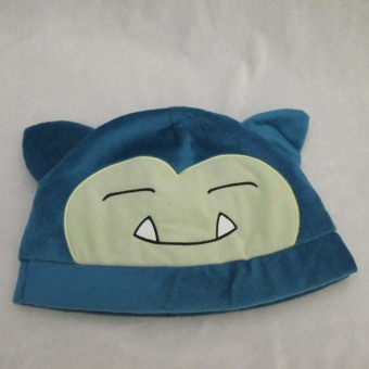 Harga Hequ Hot Sale Costume Cosplay Headwear Accessories Pokemon Adult Snorlax Plush Warm Hat Cap Beanie - intl