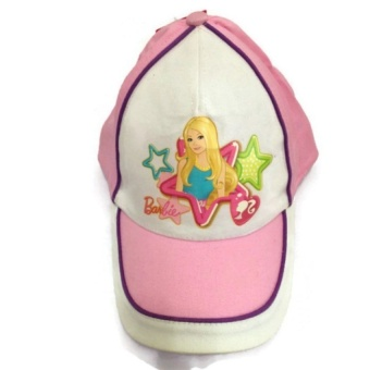 Harga Girls Barbie Cap (Pink) - intl
