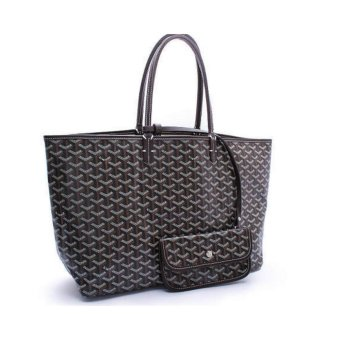 Harga Goyard leather shoulder bag Mommy bag Lottery explosion large - intl