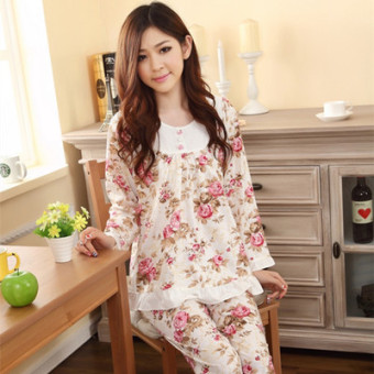 Harga Cute female autumn dress women's home clothes