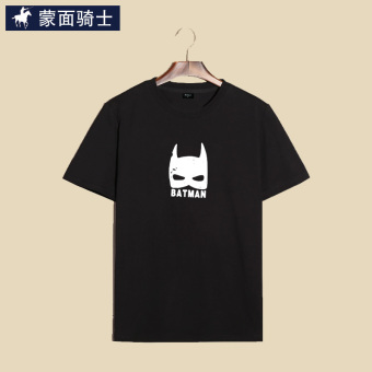 Harga Batman knight cartoon Print round neck men's short-sleeved t-shirt