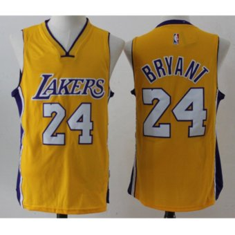 Harga Men's Basketball Jerseys Los Angeles Lakers #24 Kobe Bryant - intl