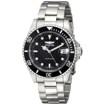 Harga INVICTA ILE8926OBA Pro Diver Men's Stainless Steel Watch Silver - Intl