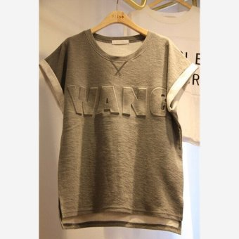 Korean-style New style female T-shirt summer short sleeved t-shirt