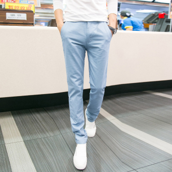 Korean-style summer Slim fit men's casual pants