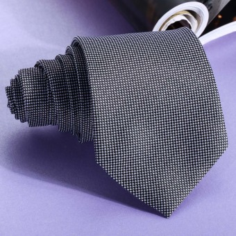 lassic Jacquard Woven Men's Silk Tie Necktie Ties WeddingParty(Gray)