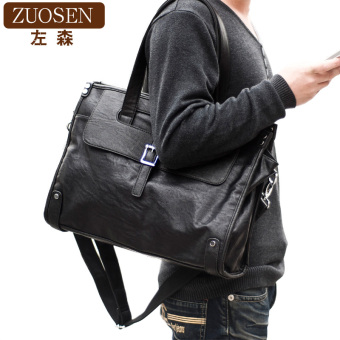 Harga Left sen men travel bag shoulder bag