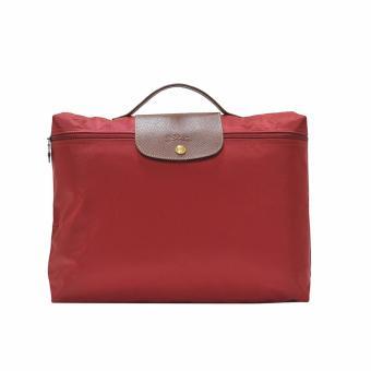 Longchamp Rouge Le Pliage Document Holder
