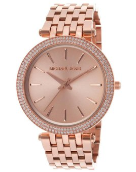 Michael Kors Darci Women's Rose Gold Stainless Steel Strap Watch MK3192