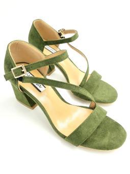 Mimosa FY680-9 Heels (Green)