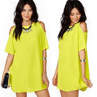 women fashion off shoulder print dress singap