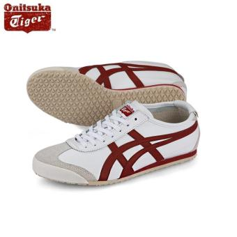 Harga Onitsuka Tiger Mexico66 White / Burgundy DL408_0125 100% Authentic- intl