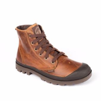 Palladium Boots Pampa Hi Leather (Sunrise/Chocolate)
