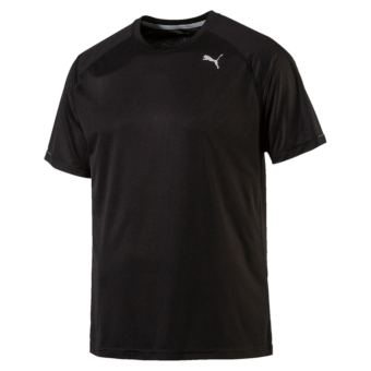Harga Puma Men Core-Run S S Tee Puma Black