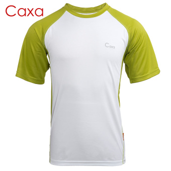 Quarter-End Clearance! Caxa quick-drying sports T-shirt quick-drying clothes short-sleeved t-shirt running shirt fitness clothing team clothing quick-drying