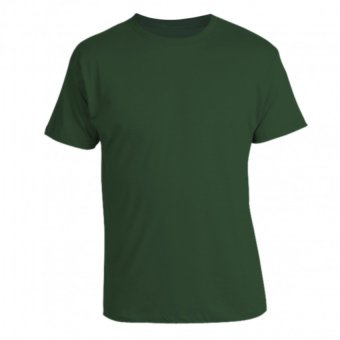 Harga REMME 100% Supima Cotton Round Neck T-Shirt (Dark Green)